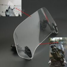 Motorcycle Adjustable Clip On Windscreen Windshield Air Deflector For Honda New