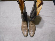 Ammons Ringtail Lizard Custom Boots Mens  Exotic Rare