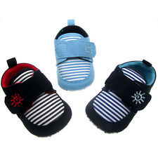 Soft Touch Baby boys Delightful striped deck shoe   3 sizes to choose 3 colors
