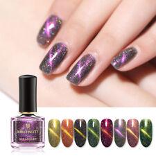 Born Pretty 6ml láser holográfico magnético esmalte de uñas Nail Art barniz 8 Colores