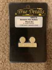 True Details 1/48 Brewster F2A Buffalo Resin Wheel Set 48073