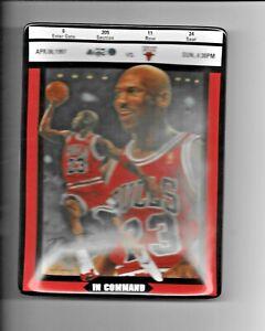 1998 Upper Deck Bradford Exchange Michael Jordan Ticket to Greatness 6th Issue