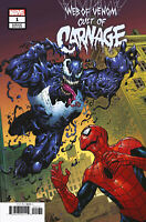 WEB OF VENOM CULT OF CARNAGE #1 Cover B Marvel 1st Print New NM Bagged Boarded