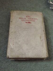 Ian Allan ABC Combined Volume 1955 BR Diesel Steam Locomotives Book Poor Cond