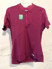 Louis Garneau Women's Gloria Cycling Jersey XL Magneta Purple Retail $70