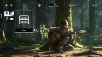 The Last Of Us Part 2 Duality Dynamic Theme PS4 all region DLC no game RARE