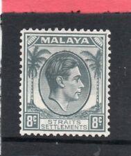 Malaya, Straits Settlements GV1 1937-41 8c grey sg 283 HH.Mint