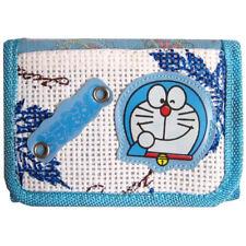 porte feuille monnaie portefeuille bleu blanc Japonais Doraemon Chat Manga anime