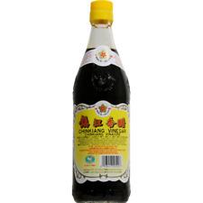 Gold Plum Chinkiang Black Vinegar 18 fl oz bottle