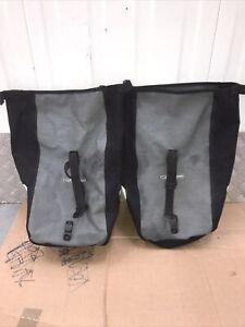 Ortlieb panniers waterproof. Carry handle + shoulder strap