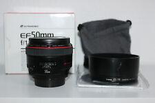 Canon EF 50 mm F/1.2 L USM Objektiv 1 Jahr Gewährleistung