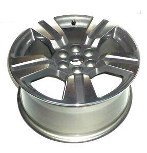 18 Inch Aluminum 5 Split Spoke Wheel 2015-2020 Chevrolet Colorado 23268070