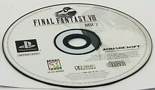 DISC #2: Final Fantasy VIII (Sony PlayStation, 1999) PS1 BLACK LABEL REPLACEMENT