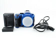 [Shot/ 8648] PENTAX Pentax K K-30 16.3MP Digital SLR Camera - Blue From Japan