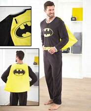 Men's Batman Pajamas - One Piece Batman Pajamas - DC Comics Pj's - Batman Pj's