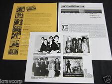 BLONDIE/NEW YORK DOLLS 'THE GROUPS OF WRATH' 1991 PRESS KIT--PHOTO