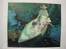 "Don Hatfield ""Boating"" Serigraph"