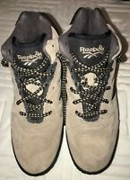 WOMEN S SIZE 7.5 BOKS REEBOK Retro Tan Leather Hiking Boots EXC  6e236e137