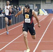 Mens USC Trojans Track & Field Tights Running Compression Shorts Small S Black