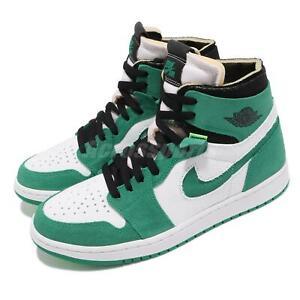 Nike Air Jordan 1 High Zoom CMFT Stadium Green White Black Men Casual CT0978-300