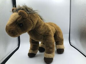 Retired Ty Classic Buddy 2002 Brown Tornado Horse Pony Plush Stuffed Toy Animal