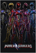 (016) NEW MAXI POSTER POWER RANGERS MOVIE ACTION HEROS