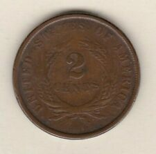 More details for 1864 usa 2 cents in fine condition.