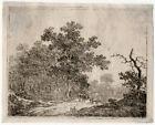 Antique Master Print-LANDSCAPE-ANIMALS-FOREST-Janson-ca. 1785