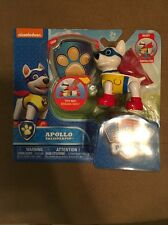 ++ Nickelodeon Paw Patrol - Apollo The Super Pup Action Pack Pup & Badge