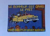 carte postale Ted Benoît Publicité Crédit Agricole