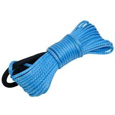 """Dyneema Synthetic Winch Rope Cable 5000 ATV SUV Recovery Replacement 50' X 1/4"""""""