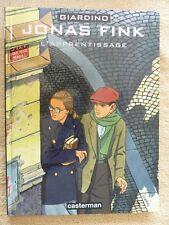 BD EO CASTERMAN 1997 - JONAS FINK - L APPRENTISSAGE