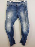 G STAR RAW Mens Size 36 ARC Loose Tapered Denim Shorts
