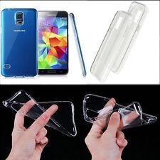 Slim Clear TPU Silicone Gel Rubber Soft Case Cover For Samsung Galaxy S5 mini