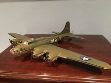 "FRANKLIN MINT ARMOUR COLLECTION 1:48 SCALE B-17F FLYING FORTRESS ""MEMPHIS BELLE"""