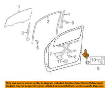 TOYOTA OEM Rear Door-Window Motor 85710AE010