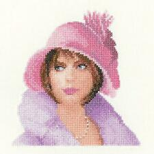 Heritage Crafts Counted Cross Stitch Kit - Harriet - Elegance Miniatures by John