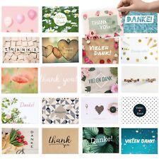 20 moderne Dankeskarten, Dankeschön für kleine & große Dinge: Vielseitige Motive
