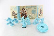Rising Sun Juego de Mesa Libélula Clan Samurai Cmon Kickstarter