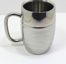 Molson Canadian Moncton Brewery Cup Stainless Beer Mug