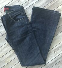 French Connection FCUK Low-Rise Kick Flare Boot Cut Dark Denim Fall Jeans - Sz 2