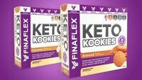 Finaflex KETO KOOKIES Ketogenic Shortbread Cookie 8 Servings PICK FLAVOR