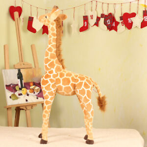 70CM Big Plush Giraffe Toy Giant Large Stuffed Cute Animal Doll Kid Xmas Gift