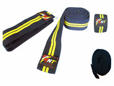 NNT Weight Lifting Knee Wrap Support Bandages For Power Lifting & Gym Exercises