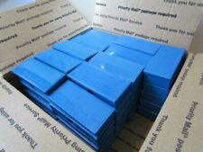 58 piece Lot Vintage Blue Plastic Photo Slide Case Storage Container