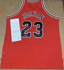 Michael Jordan Autographed Jersey Red Chicago Bulls UDA 1997-98 Mitchel&Ness USA