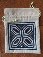 hand embroidered travel accessory jewelry pouch bag ethnic house handicrafts