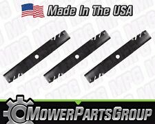 "(3)Toothed Mower Blades for AYP Snapper NXT200 48"" Deck 16.5"" Replaces 1757303YP"