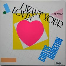 """12"""" DE**CURTIS HAIRSTON - I WANT YOUR LOVIN (JUST A LITTLE BIT)**25546"""