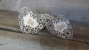 Original design personalised wooden coasters for gift or home decor